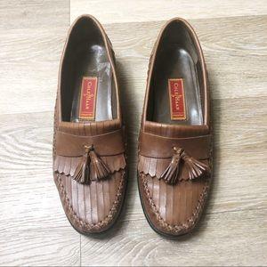 Cole Haan  vintage country tassel loafer sz 8 1/2B